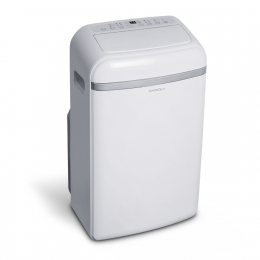 Portable electronic air conditioner with an LED screen